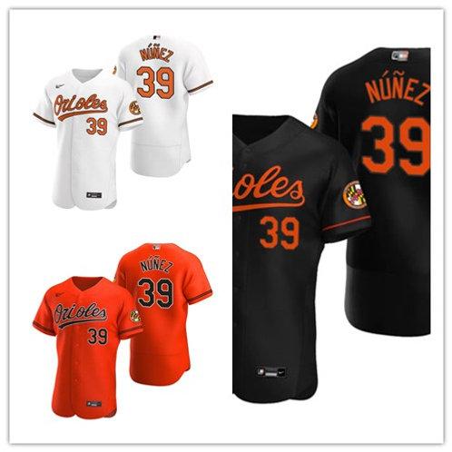 Men Renato Nunez 2020/21 Authentic White, Orange, Black