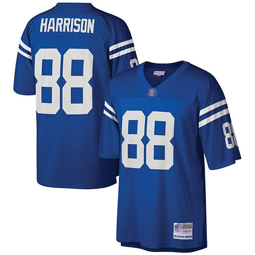 Men Marvin Harrison Throwback Blue