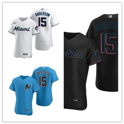 Men Brian Anderson 2020/21 Authentic White, Blue, Black