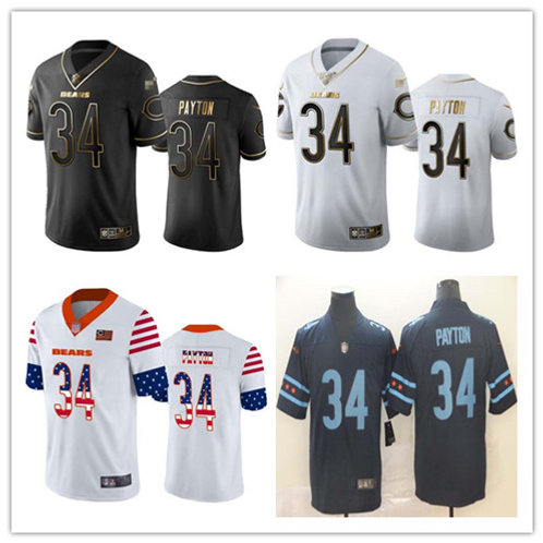 Men Walter Payton Limited Golden Edition, Independence Day, City Edition