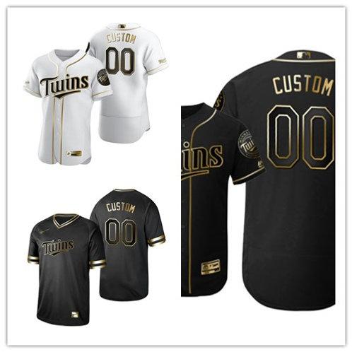 Men Custom White Golden, Black Golden