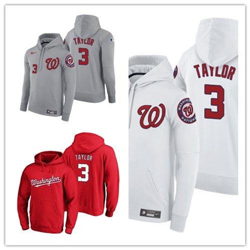 Men Michael Taylor Pullover Hoodie White, Scarlet, Gray