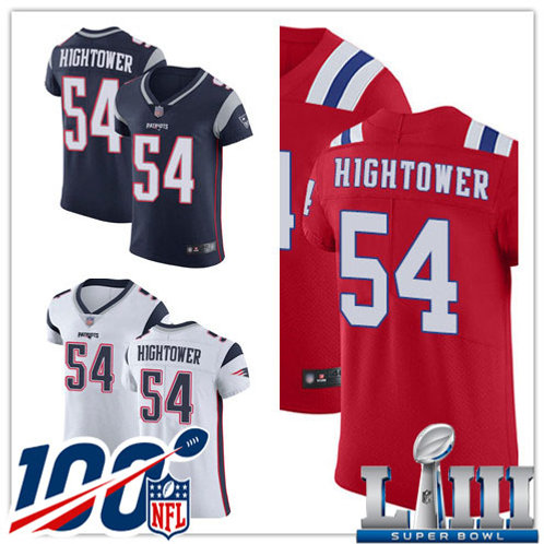 Men Donta Hightower Vapor Elite Navy Blue, White, Red