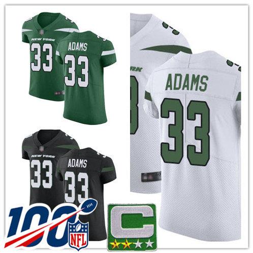 Men Jamal Adams Vapor Elite Green, White, Black