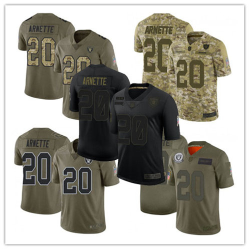 Youth Damon Arnette Limited Salute to Service Olive, Camo, Black