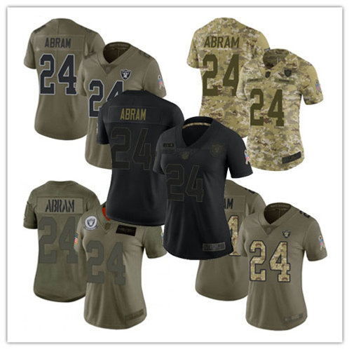 Women Johnathan Abram Limited Salute to Service Olive, Camo, Black