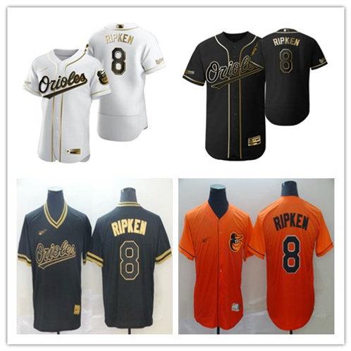 Men Cal Ripken Jr White Golden, Black Golden, Drift Fashion