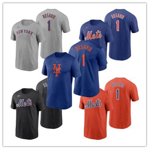 Men Amed Rosario T-Shirt Gray, Royal, Black, Orange