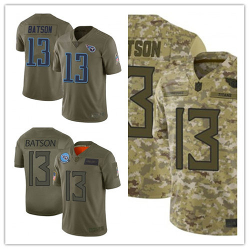 Youth Cameron Batson Limited Salute to Service Olive, Camo