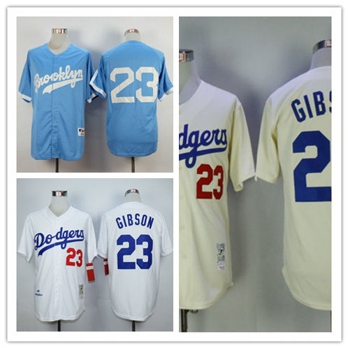 Men Kirk Gibson Throwback White, Cream, Light Blue