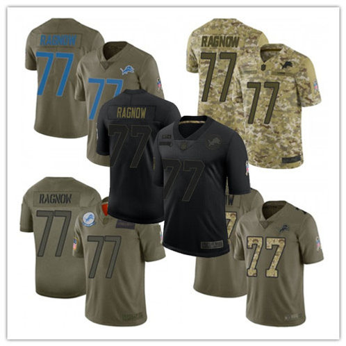 Youth Frank Ragnow Limited Salute to Service Olive, Camo, Black