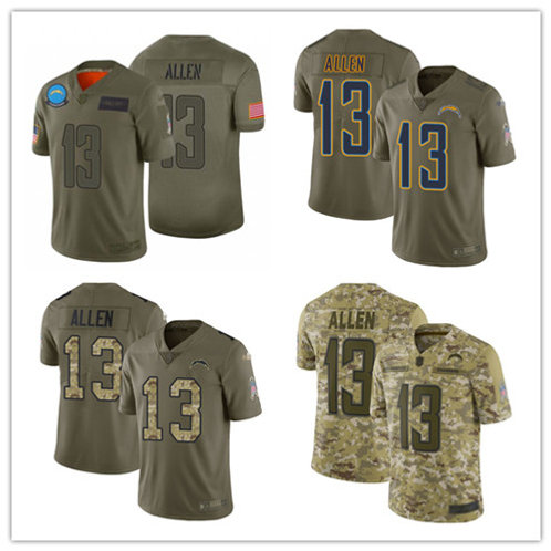 Men Keenan Allen Limited Salute to Service Olive, Camo