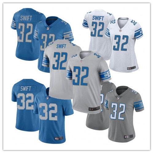 Women D'andre Swift Vapor Limited Blue, White, Alternate, Rush, Grey
