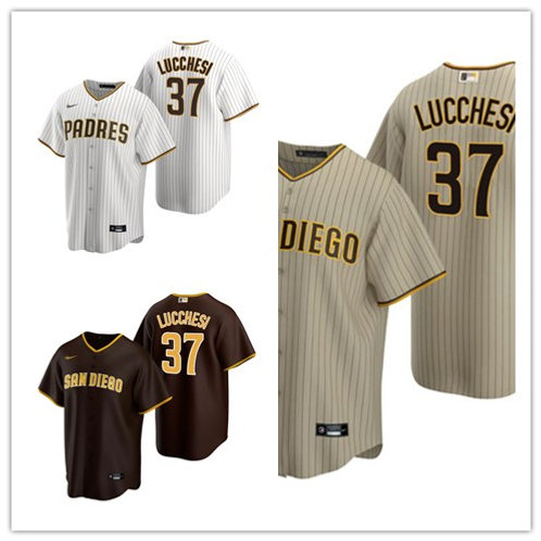 Youth Joey Lucchesi 2020/21 Replica White/Brown, Brown, Tan/Brown