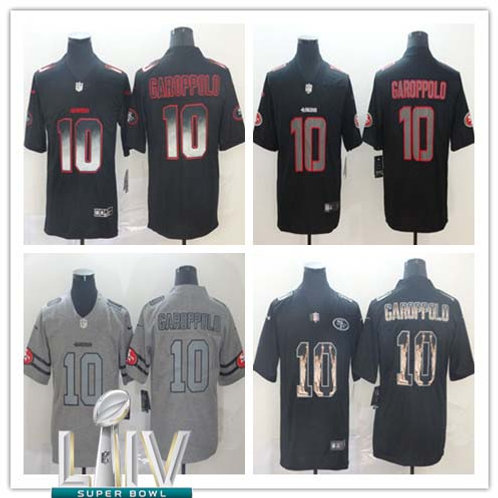 Men Jimmy Garoppolo Limited Smoke, Impact, Gridiron, Statue of Liberty