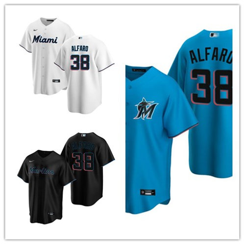 Men Jorge Alfaro 2020/21 Replica White, Blue, Black