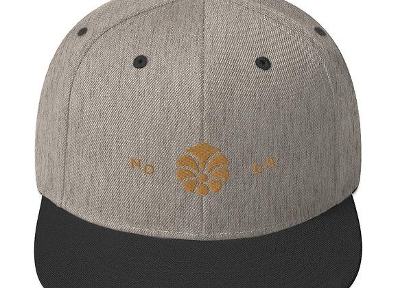 Cherry Coffee Snapback Hat