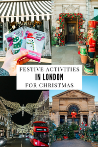 festive activities in London for Christmas