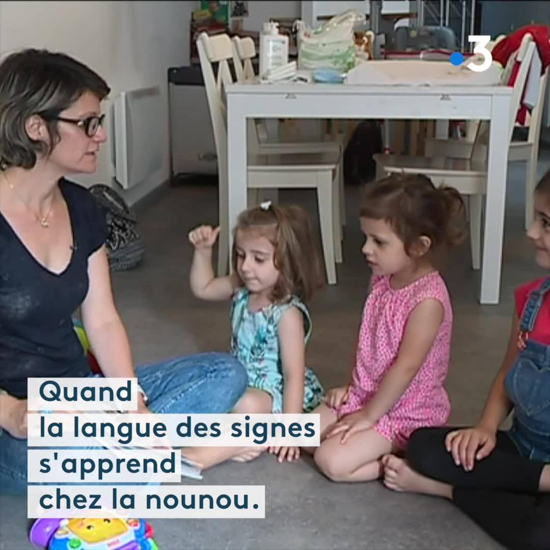 Régions - Quand les tout-petits apprennent la langue des signes