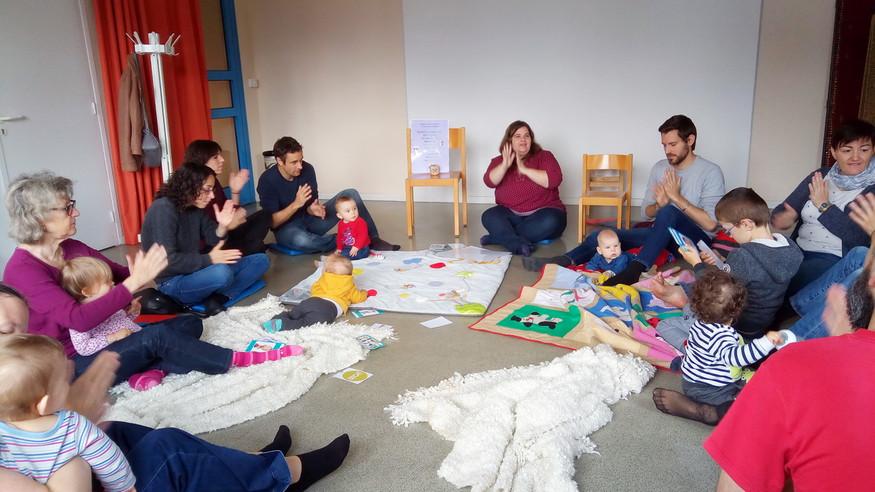 Ateliers parents-bébés