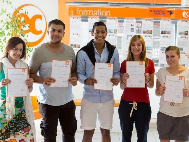 Студенты EC