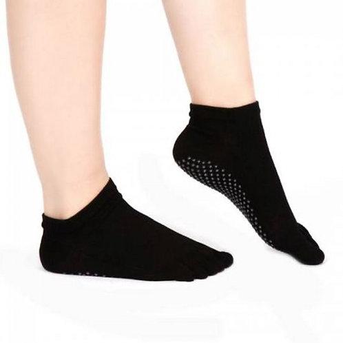 Pilates nonslip grip socks