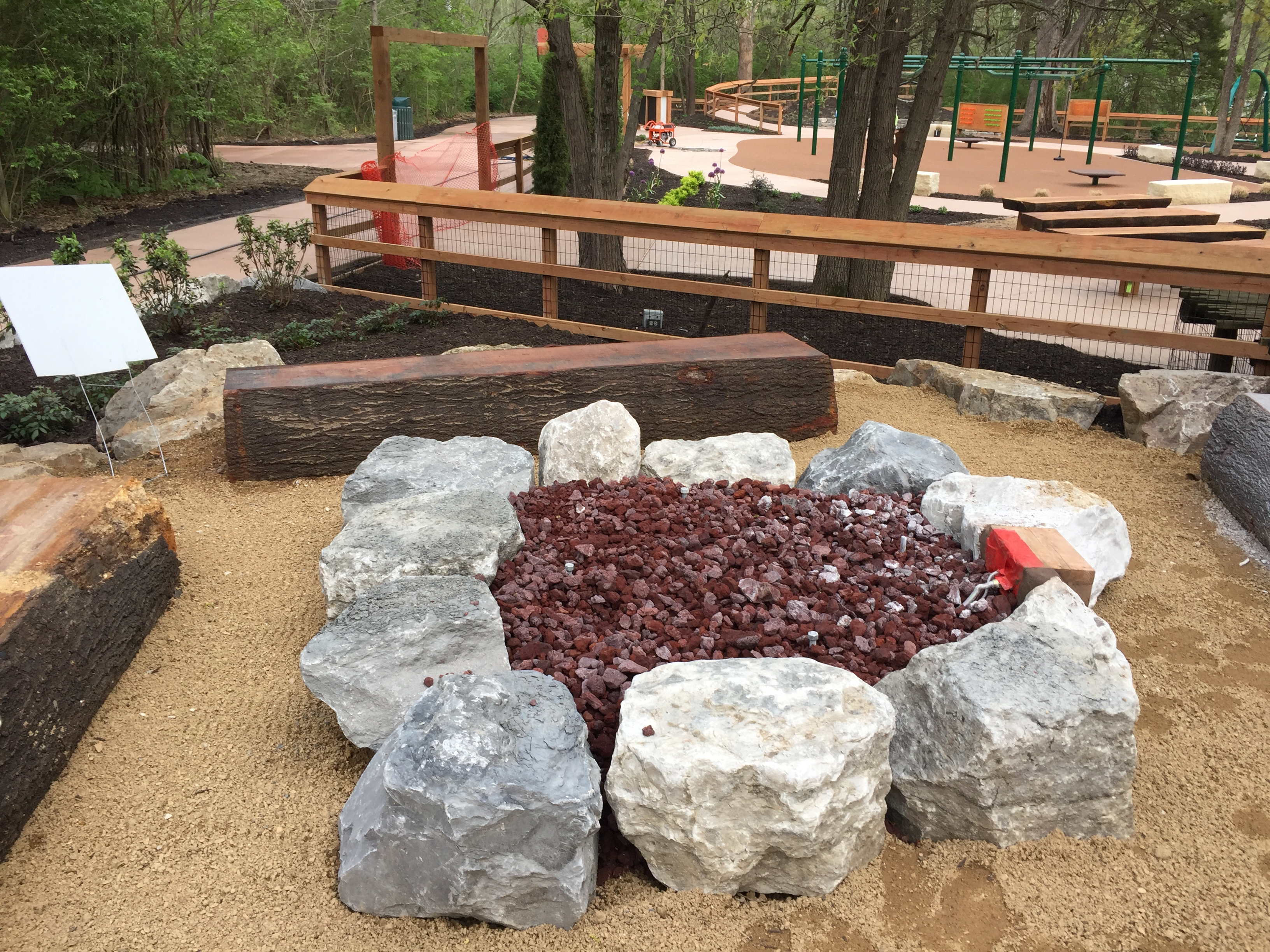 Nature Play - Fire Pit
