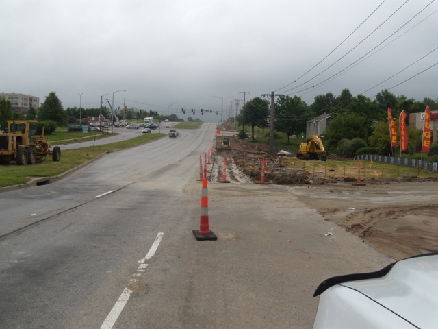 Barry Road & I-29 Ramp Improvements,