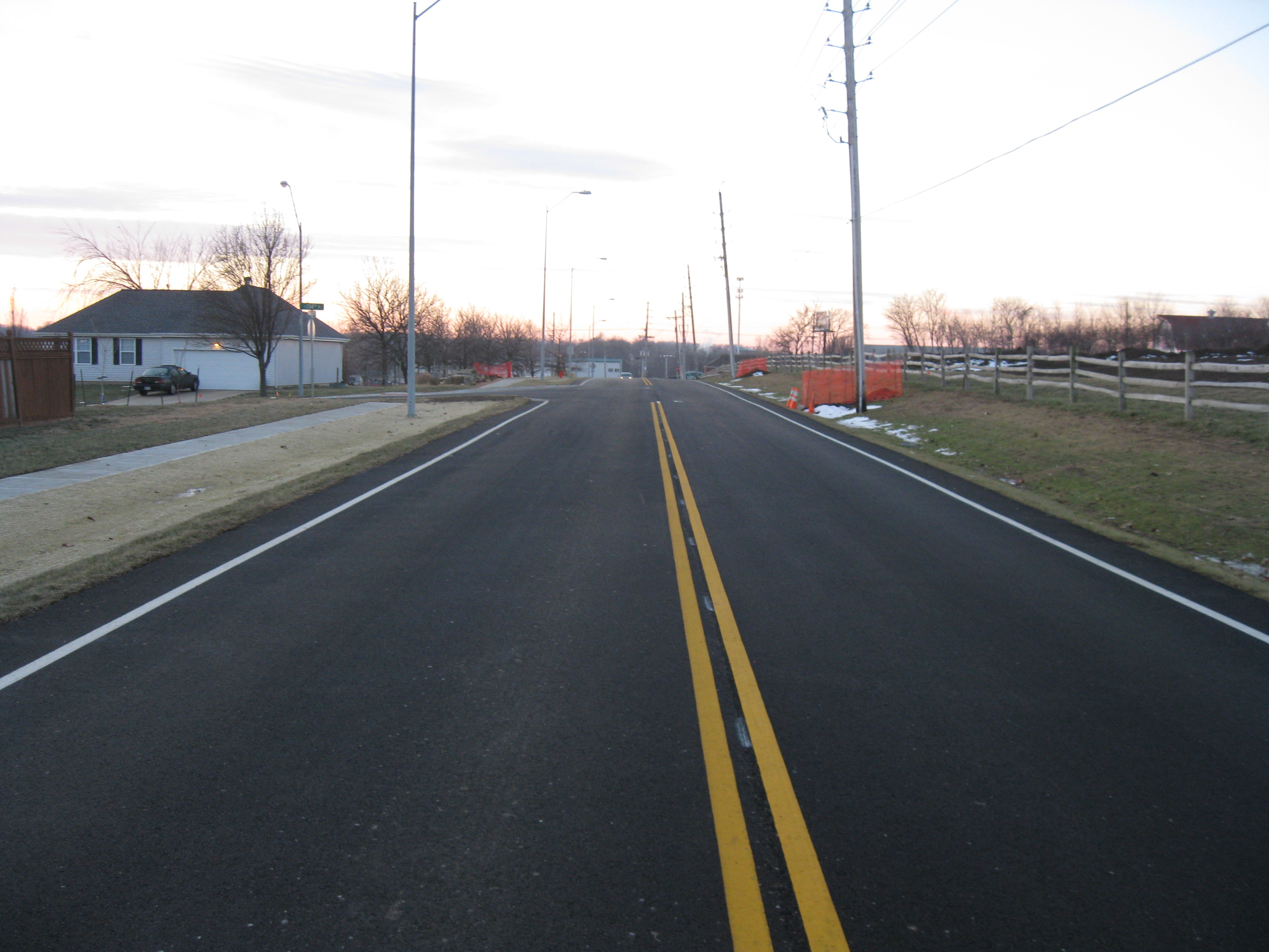 Wornall Road, Blue Ridge to 135th St