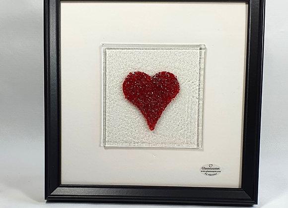 """Bilde """" Rødt hjerte"""""""