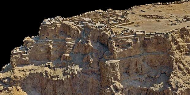 Masada 3D Model Israeli Aviation & Technology HUB Tailwinds RSA