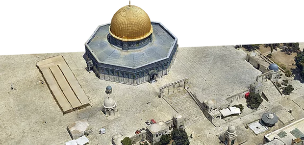 Jerusalem Israel 3D model Israeli Aviation & Technology HUB Tailwinds RSA