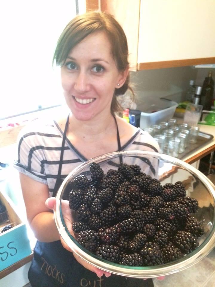 MMM fresh blackberries!