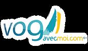 Logo Vogavecmoi, partenaire du Rallye des Iles du Soleil