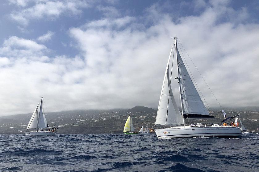 Depart Rallye transatlantique à La Palma