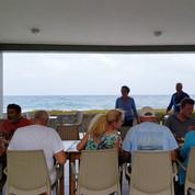Pause déjeuner durant l'excursion à Santo Antao, Cap-Vert