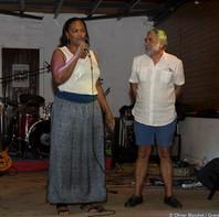 Mme Maryse Eztol, Présidente de la Communauté de Communes de Marie-Galante et M. Pochon, Président de Grand Pavois Organisation