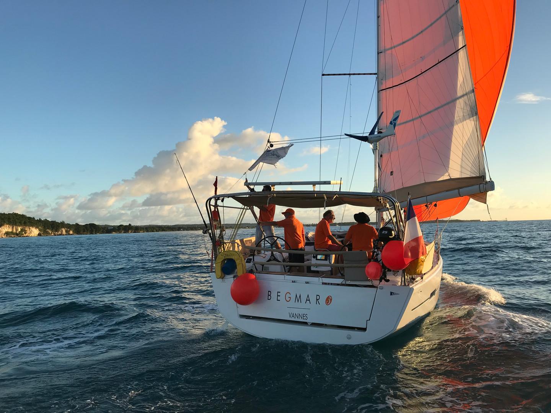 Rallye des Iles du Soleil / A. Pochon