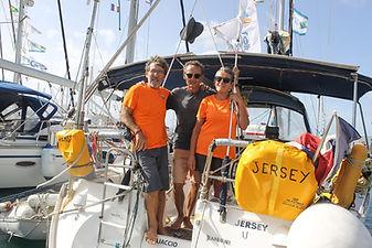 Equipage Jersey, Jeanneau Sun Odyssey 40