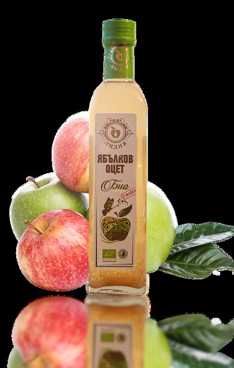 Ябълков оцет био с майка 500 мл