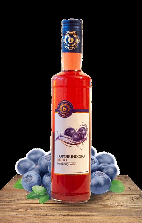 Боровинково вино 500 мл