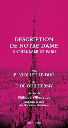 Description De Notre-Dame, Cathédrale De Paris par Violet le Duc F. de Guilhermy