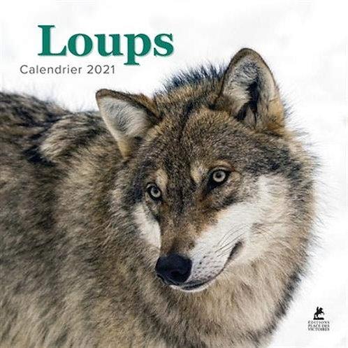 Loups - Calendrier 2021 - Editions Place Des Victoires