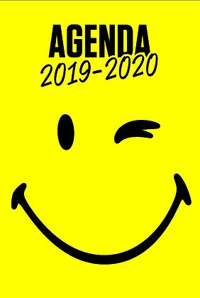 Smiley - Agenda 2019-2020 - Smileyworld - Dragon d'or