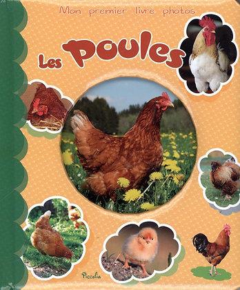 Mon Premier Livre Photos - Les Poules - Piccolia