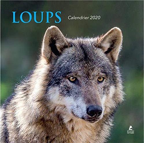 Calendrier Loups 2020 - Editeur,  Place Des Victoires