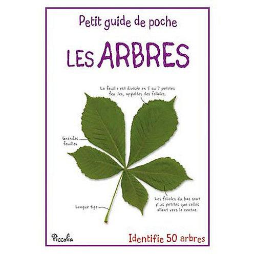 Livre enfant -Petit guide de poche -  Les Arbres - Piccolia