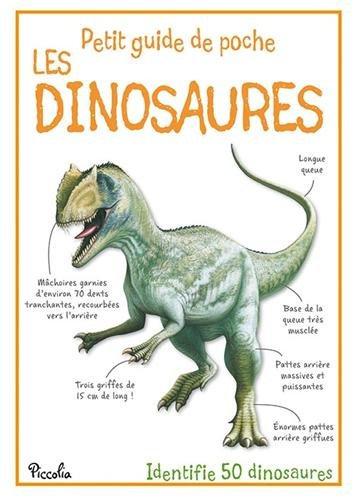Petit guide de poche - Les Dinosaures - steve parker - Piccolia - Livre enfant