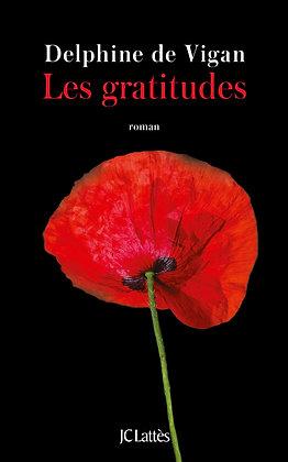 Les Gratitudes - Delphine de Vigan - JC Lattès