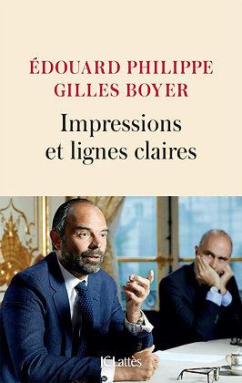 Impressions Et Lignes Claires - Philippe Edouard - Editeur : Jean-Claude Lattès